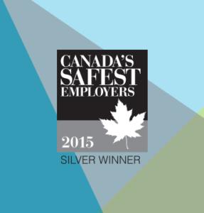 2015 Canada Safest Employer Silver