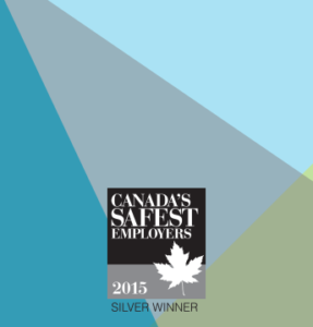 2015 Canada Safest Employer Silver Winner