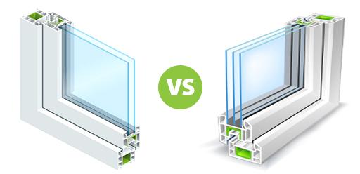 Dual And Triple Pane Windows