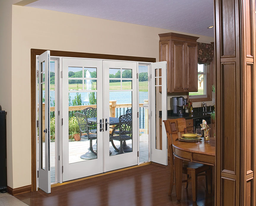 Hinged Patio Doors - Durabuilt Windows u0026 Doors | Durabuilt Windows u0026 Doors & Hinged Patio Doors - Durabuilt Windows u0026 Doors | Durabuilt Windows ...