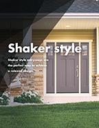 Shaker Style Brochure